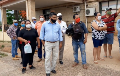 Manifestación de sampedranos en exigencia de UTI para Hospital Regional