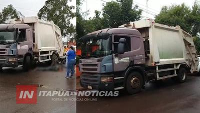 MOTOCICLISTA LESIONADO TRAS ACCIDENTE EN EL B° SAN PEDRO