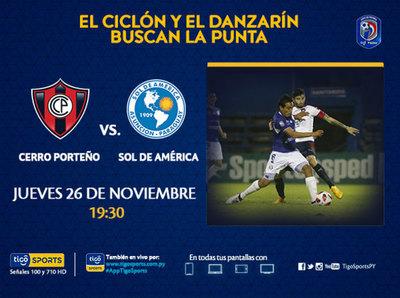 Cerro Porteño y Sol de América concretan su cita pendiente