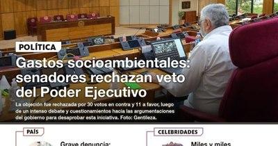 La Nación / LN PM: Las noticias más relevantes de la siesta del 26 de noviembre