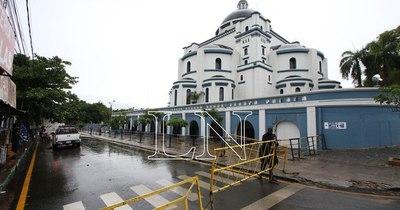 La Nación / Caacupé 2020: Basílica cerrada desde el sábado
