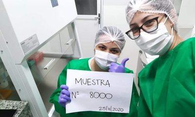 Laboratorio de Alto Paraná llega a 8.000 muestras procesadas