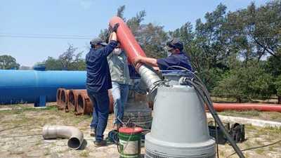 Luego de 38 años Essap renueva bomba en planta de tratamiento y proyecta más inversiones