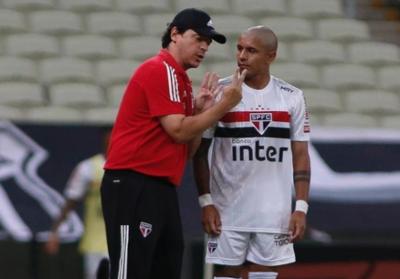 San Pablo igualó con Ceará en el debut del paraguayo Antonio Galeano
