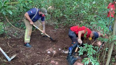 Amambay: macabro hallazgo de fosa común con 4 cadáveres