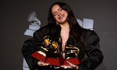 Rosalía se llevó 3 Latín Grammy.