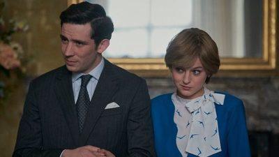 La tímida cara de la princesa Diana en 'The Crown' se convierte en meme
