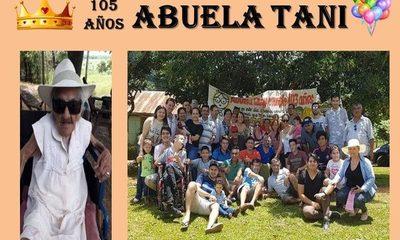 """ABUELA """"TANI"""": 105 AÑOS DE MUCHO AMOR"""