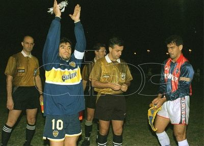 El día en que Diego Maradona enfrentó a Cerro en Formosa