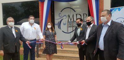 Defensa Pública inaugura nueva sede en Horqueta
