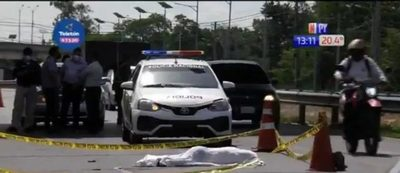 Mujer muere atropellada en la Autopista Ñu Guasú