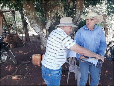 Colonos asentados por Indert preocupados por reclamo de supuestos herederos