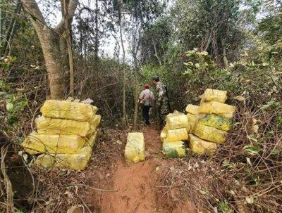 Hallan más de 1.000 kilos de droga a orillas del río Paraná