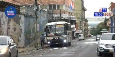 Campesinos abandonan Asunción