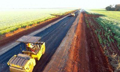 """""""Capital del Granero"""" tendrá nueva ruta asfaltada que ahorrará 40 km a productores"""