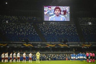 El conmovedor adiós de Nápoli a su ídolo 'inmortal'