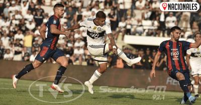 Olimpia y Cerro Porteño empataron 1 a 1