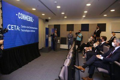 Conmebol inaugura el Centro de Entrenamiento Tecnológico Arbitral (CETA)
