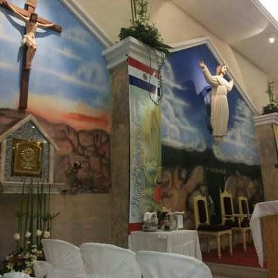 Mondaha profanan una capilla en Luquelandia