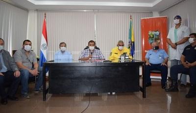 Evalúan daños causados por incendios en las reservas de Yacyretá y áreas de Ayolas