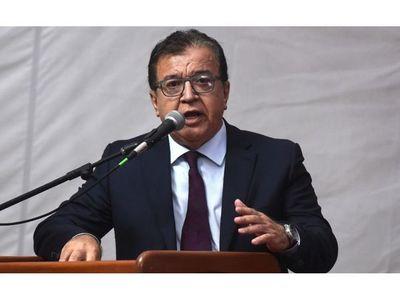 Nicanor   defiende veto presidencial y llamó cínicos a opositores