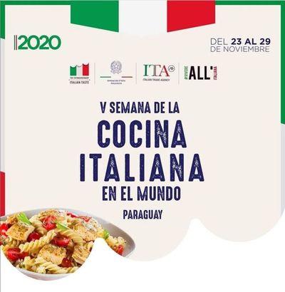 Gastronomía y cultura de Italia en Paraguay