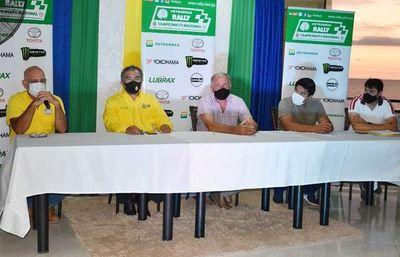 Presentan  el Rally de Carmen del Paraná