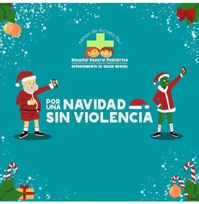 Proponen una Navidad sin violencia