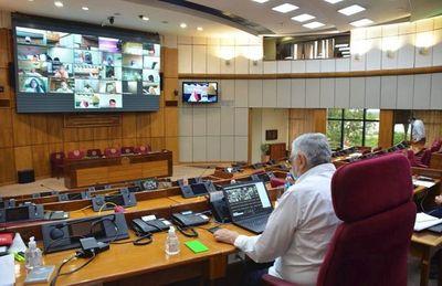 Senado rechaza veto de Abdo a  transparentar binacionales