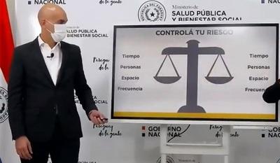 Mazzoleni reporta aumento de casos en varios departamentos