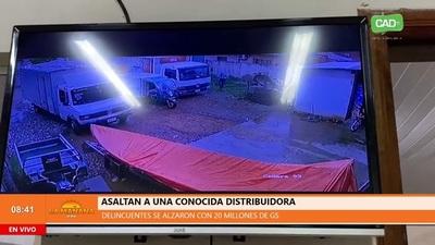Concepción: Asaltan distribuidora y se alzan con 20 millones de guaraníes
