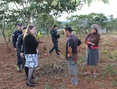 Fijan nueva fecha de juicio oral para 28 invasores de tierras ajenas, en Minga Guazú