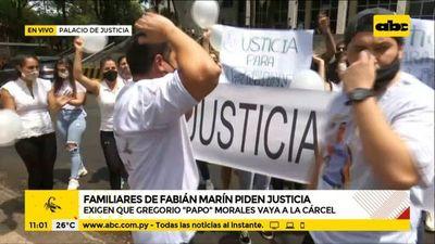 """Familiares y amigos de Robert Marín piden que """"Papo"""" vaya a la cárcel"""