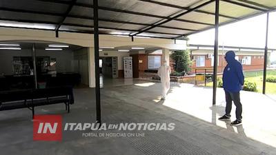 GOBERNACIÓN SE ENCARGARÁ DE LA PROVISIÓN DE COMIDA EN EL HOSPITAL RESPIRATORIO.