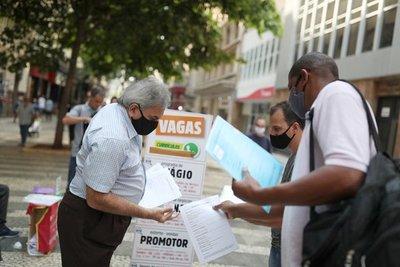 Récord de desempleo en Brasil: hay más de 14 millones de personas sin trabajo