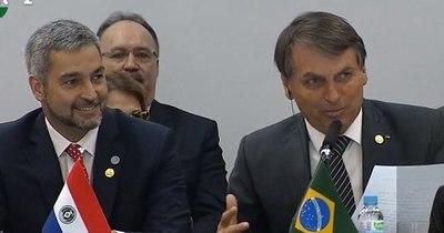 La Nación / Abdo Benítez y Bolsonaro mantendrán una reunión el martes en Foz de Iguazú