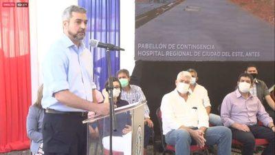 [EN VIVO] Inauguración del Pabellón de Contingencia COVID-19 en Ciudad del Este