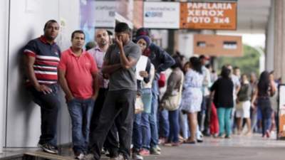 Brasil alcanza récord de desempleo