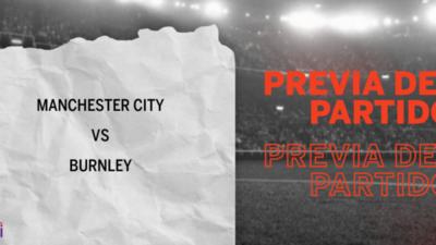 Por la Fecha 10 se enfrentarán Manchester City y Burnley