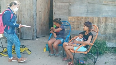 Ofrecen atención médica a comunidades indígenas chaqueñas