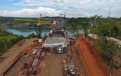 Abdo y Bolsonaro verificarán obras del segundo puente sobre el Paraná el próximo martes