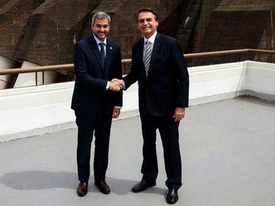 Bolsonaro y Abdo Benítez verificarán obras de puente entre Brasil y Paraguay