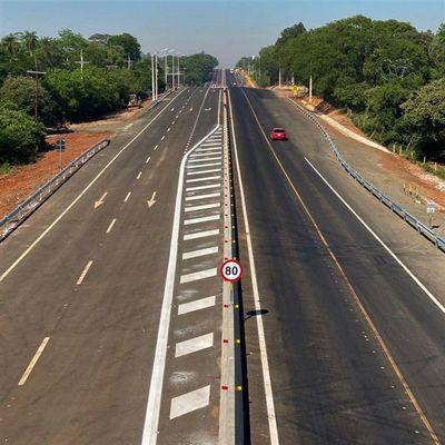 Proyecto de duplicación de Ruta PY02 habilita su primer tramo en Caaguazú