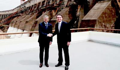 Mario Abdo  y Jair Bolsonaro, se encontrarán en Foz de Yguazú el próximo 1 de diciembre.