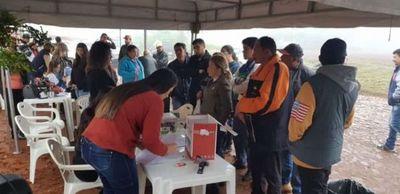 Amambay Ñanemba´e realiza hoy jornada de afiliación partidaria en barrio San Gerardo