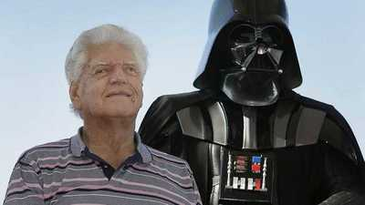 Falleció Dave Prowse, el actor que interpretó a Darth Vader en Star Wars