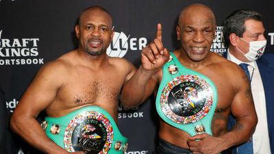 Tyson y Roy empatan en su regreso al cuadrilátero