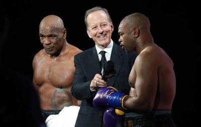 Quince años después, Mike Tyson volvió al ring y empató con Roy Jones Jr.