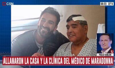 Imputan al médico de Maradona por homicidio culposo