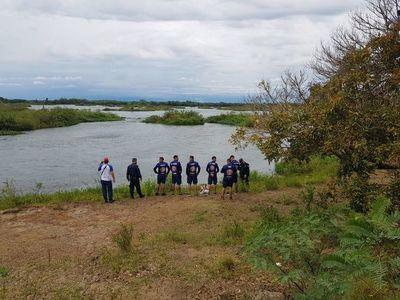 Cuatro personas fueron arrastradas por el río Paraná en Ayolas